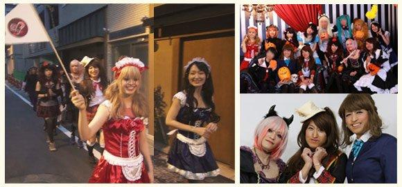 ハロウィン女装イベント
