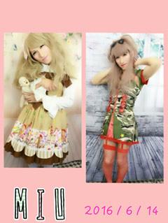 吉川美海女装写真